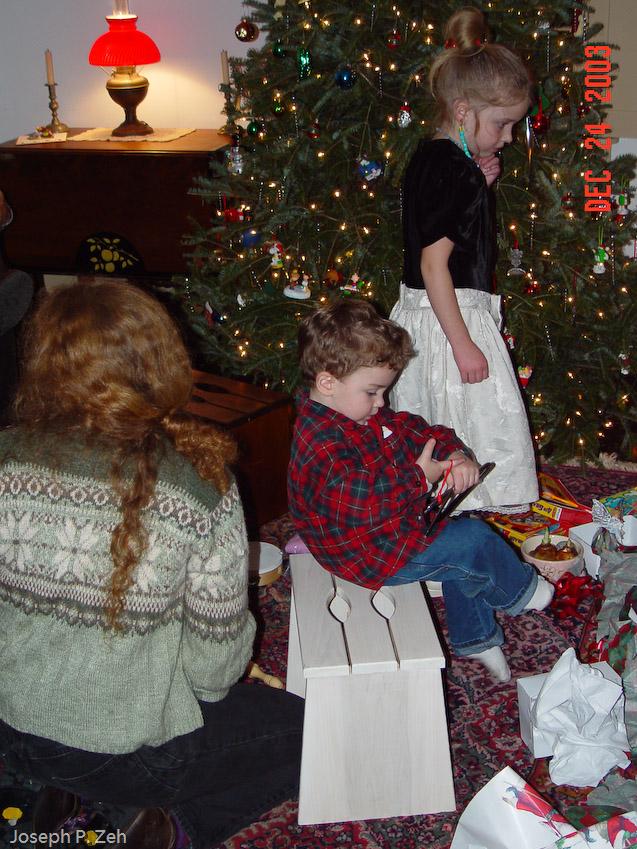Christmas Stool
