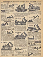 An assortment of Plow Planes - mostly Stanley