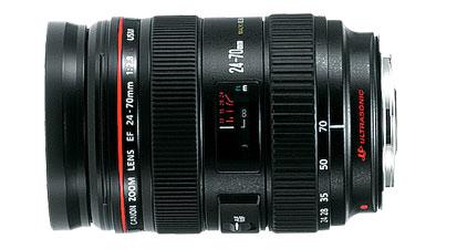 Canon EF 24-70mm f/2.8L USM / Ø77mm