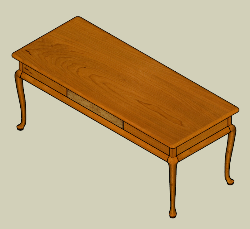 Cabriole Table