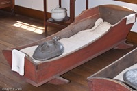 An Adult Cradle Used In The Infirmary
