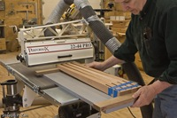 Tapering Legs With A Drum Sander