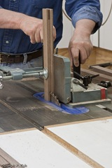 The Tenoning Jig Makes Cutting The Open Mortises And Tenons Easy And Safe
