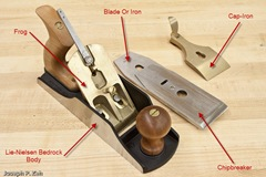 Lie-Nielsen No. 4 1/2 Smooth Plane Components