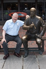 My Brother Clark With Red Auerbach