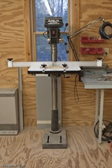 The Supreme Drill Press Table Mounted On My Delta Drill Press