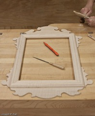 All Pieces Are Sanded And Matched With A Picture Frame