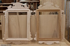 These Mirrors Are Ready For Staining & Finishing