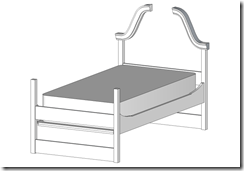 Trundle Bed Sans Trundle Sub-Assembly