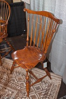 Tiger maple chair