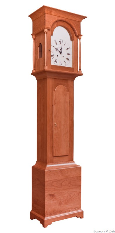 Shaker Tall Clock In Cherry
