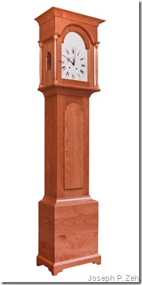 Shaker Tall Clock Crafted In Cherry