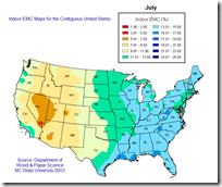 Map Of Regional EMCs For July