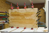 Headboard Panel Glue Up