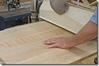 Flattening A Panel After Glue Up