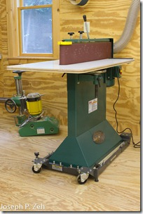 Fully Assembled G0512 Edge Sander With Shop Fox Base