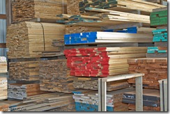Lumber Not Yet Graded and Shelved