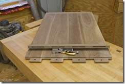 Mortise, Tenon & Haunch Joinery for Seasonal Changes