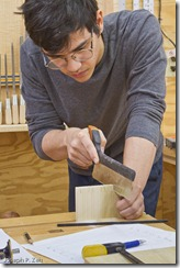 Learning to Hand Cut Dovetails