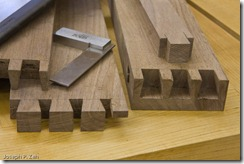 Jesse's Well Formed Half-Blind Dovetails