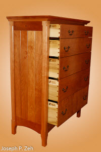 All Five Drawers Are Hand Dovetailed
