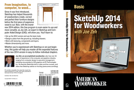 Basic SketchUp 2014 for Woodworkers