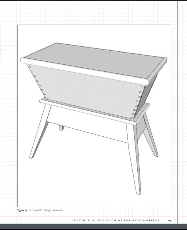 Sketchup A Design Guide For Woodworkers Simple Sketchup Furniture Design