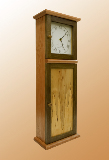 Shaker Wall Clock - side view