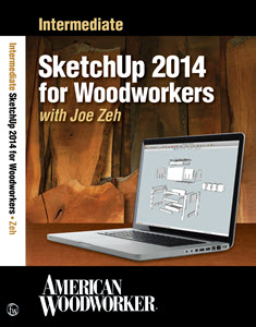 Intermediate SketchUp 2014 for Woodworkers